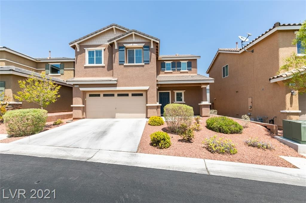 Gorgeous 3 bed + loft, 3 bath home in the gated Madison Colony community! This home has been maintained with pride in ownership and is in pristine condition. Open concept floor plan with lavish details throughout, including fully renovated bedrooms & bathrooms, recessed lighting and updated fixtures, tile in bathrooms, laminate floors downstairs & carpet upstairs. Kitchen boasts granite countertops and an island, ample counter space, shaker cabinetry, and modern tile backsplash. Just past a sliding glass door, you can enjoy the serene backyard with mature landscaping, including an installed irrigation system for its fruit trees, plants, shrubs, and grass. A patio deck with Pergola covering is perfect for entertaining. Spacious main bedroom features a bath ensuite with separate large soaking tub and standing shower. 2-car garage. This home has extra curb appeal– this one won't last long!