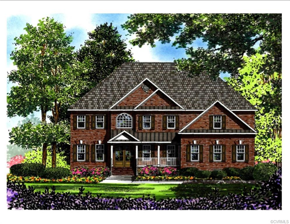 NEW CONSTRUCTION on 1 ACRE +  homesite in Henrico! This is a rare find – located in the Estates of Stonehurst off Nuckols rd near Pouncey Tract. Bradford Custom Homes is proud to offer this luxurious 5 bedroom, 6 bath home. Nestled on a private 1 + acre lot, this home boasts 5,366 square feet of awesome living space full of upgrades and exquisite trim detail. Stunning Mahogany double door entrance to two story foyer.  Several Flex spaces throughout. First floor guest suite, designer kitchen with gorgeous morning room. Enjoy the serenity of the outdoors relaxing on your fabulous screened porch.  Oversized 3 car garage.  Low Maintenance with full Sod and Irrigation. Stonehurst Estates Terrace is a gently winding roadway designed to give you a relaxed country-life feeling. Highly desirable school district. Hurry while there is still time to customize and make your own selections!