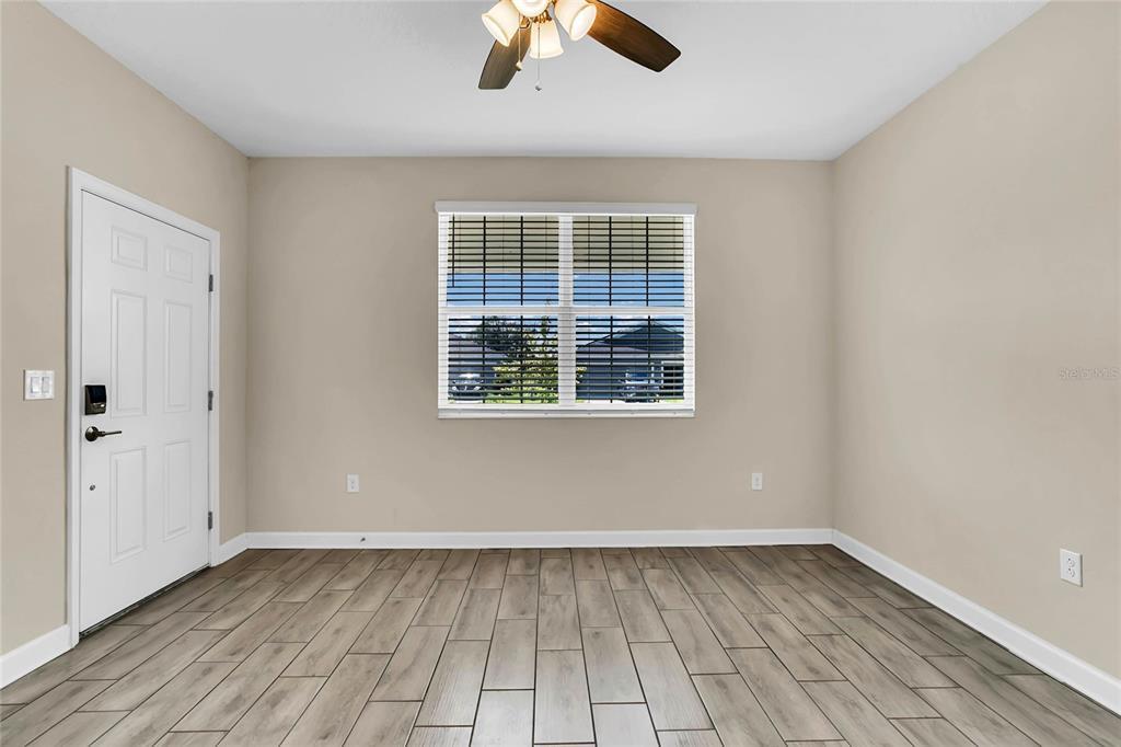 Living room in next gen suite