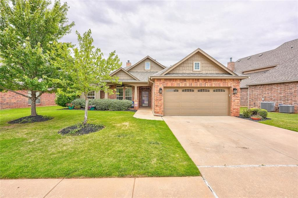Fantastic 4 Bedroom home in Deer Creek Schools! Neighborhood has Park and Pool! Large Living room has Wood Floors~ Gas Fireplace with Built-ins~ Surround Sound! Master Suite is HUGE with Jetted Tub, DBL Sinks, DBL vanities, Walkin Closet! All Secondary Bedrooms are Spacious with Great Closet Space! Amazing Kitchen features Gas Stove~ Pantry~ Granite Countertops~ Large Eating Space ~ Breakfast Bar! Flex Space is off of Kitchen currently being used as a Playroom would be a Great Office or Formal Dining Room! Storm Shelter in Garage! Large Covered Porch and Covered Patio! New Roof in 2019 ~ Welcome Home!
