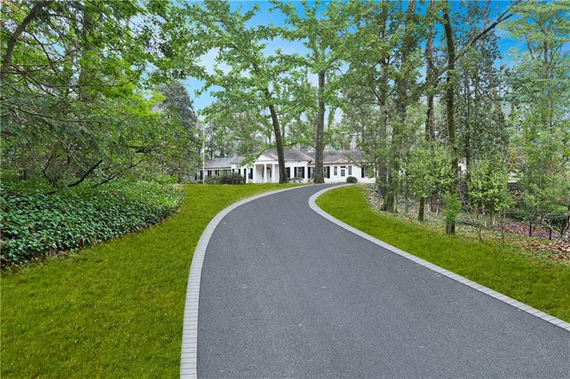Beautiful, flat, estate lot ready for new home. 1.87+/- acres are in  one of the best areas of Buckhead. Current home to be demolished in a few weeks. Bring your buyer looking for a super private, completely flat lot.