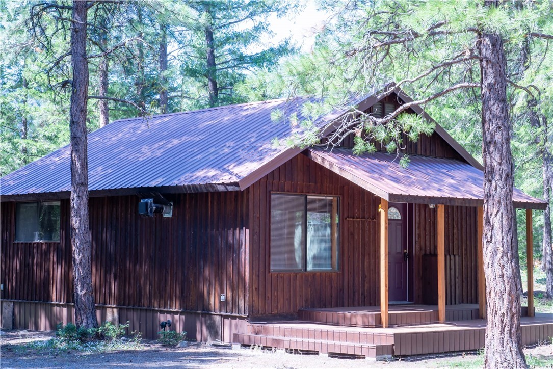 Quintessential Mazama Cabin on 2.76 Acres in the heart a recreational wonderland.  Walk/bike to Mazama Store & Community Trailhead. Great base to explore & enjoy Fun Rock, Forest Service trailheads and beyond to Harts Pass, PCT & Pasayten Wilderness.  Remodeled in 2004 w/2 bed, 3/4 bath on 721SF main floor & 240SF finished loft. Propane stove, open living room/kitchen area, handy utility room,  deck w/covered porch, attached dog run, and convenient circular drive. Two storage containers on site for handy storage of seasonal sports gear. This is a deep lightly forested parcel with lots of potential for a different secluded/view homesite more to the rear should the cabin be decommissioned/repurposed in the future.  Rare opportunity!