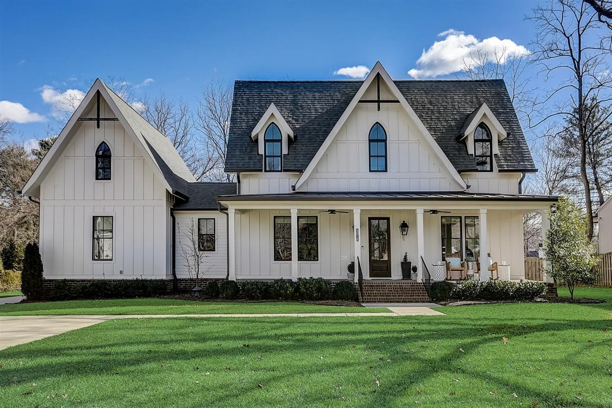 Southern charm at every turn in this modern farmhouse just minutes from downtown. No detail was left out in this custom home from McKenzie Builders. First floor offers an open, inviting atmosphere, a spacious owners suite & opt 5th br/ba (currently used as an office). Upstairs has  3 bedrooms, 3 full baths PLUS a large bonus/media room. All sitting on a large, fenced lot on a quiet street. Minutes from everything you need, but a world away from the hustle of city life.