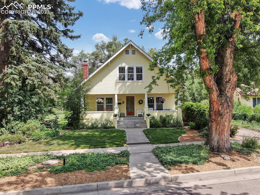 Amazing opportunity in the wonderful Patty Jewett Neighborhood! One of the most recognizable homes in the area is available for the first time in over 30 years. Classic craftsman styling including the large front porch, beautiful unpainted woodwork, iconic built ins and ceiling detailing. This fabulous home has 4 bedrooms, 3 bathrooms and a large office in over 3500 square feet of living space! All the bedrooms are spacious, full of natural light and have walk in closets. Most of the interior has gotten a fresh coat of paint.  The main level master suite is an additional bonus! The basement has high ceilings, a large family room, 2 storage rooms with shelving, a small workshop and a bonus room currently being used as an exercise room. You will find this home on a 15,000 square foot lot.  The  oversized, detached 2 car garage is insulated and heated. This rare beauty is just around the corner from the entrance to Patty Jewett golf course. You will be endlessly entertained by watching the golfers on the 2nd green from your front porch which is large enough for a dining table!