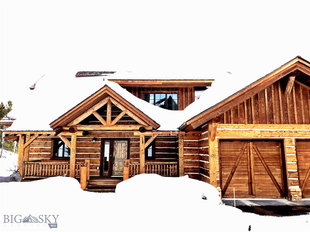 Beautifully appointed ski-in ski-out cabin just steps from the first fairway of Tom Weiskopf designed golf course located in the Settlement neighborhood in the heart of Spanish Peaks.  Walking distance to the clubhouse, golf and future Montage Hotel amenities, this 6 bedroom, 6.5 bath residence has luxury finishes, 2 additional living rooms and a 2 car garage.  Application and approval for membership with Spanish Peaks Mountain Club required prior to closing. Golf/Ski or Social/Ski membership available.