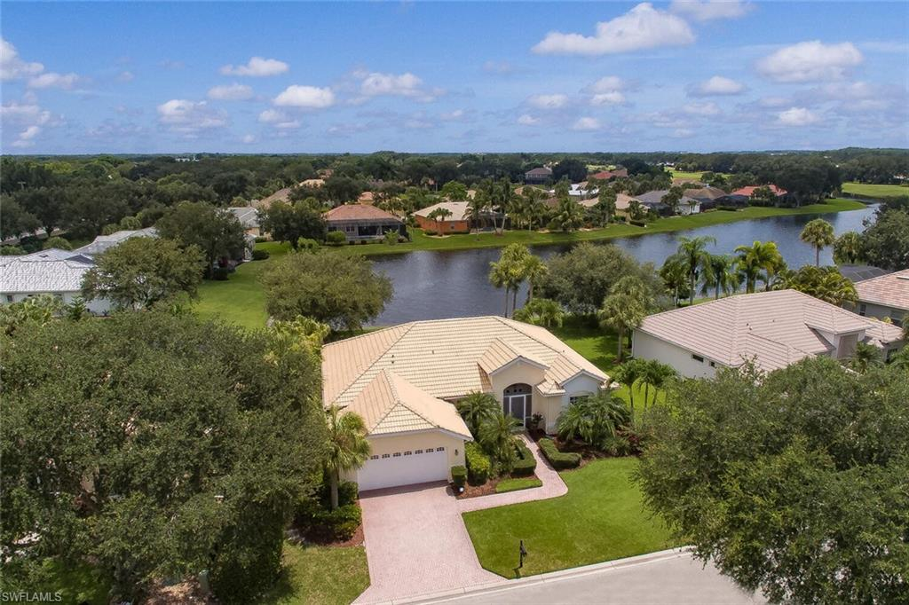 """Detached three bedroom/2 bathroom home.  This model won """"best model under 2,000 sq. ft. two years in a row"""".  .  Beautiful master suite with walk-in closet.  Pristine waterfront, peaceful, private view  from your screened lanai. Open the front door with screened porch and let the breeze blow through to the sliders in the back.  The dining room is part of the open house concept including a breakfast room and a great room. .You will love the location of this home. Has a totally renovated clubhouse to the tune of $5M without assessments. There are choices of membership but there is no obligation to join."""