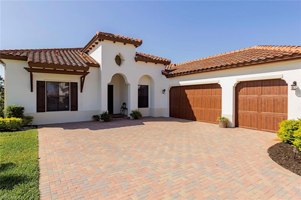 "H.15182 - Heavily Optioned ""Chesbro Model"" Capistrano Series Property, Saltwater Pool w/Spa in Huge Enclosed Lanai, Private Lot. 3086 Sq. Ft., 3600 Total Sq. Ft. 3 Bedroom, Plus Den, 2.5 Baths w/His & Hers Bath in Master Suite, Gourmet Level 8 Kitchen, Great Rm, Family Rm,Finished Utility Rm w/Sink, 3 Car Garage. Included Options; Impact Doors & Windows Throughout, Gourmet/Convenience/Pantry Wrap Kitchen Packages, Level 6 Counter-tops,Hardwood Floors Through Most, Numerous Electrical Upgrades, Quality Decorative Light Fixtures, Den Upgrade, Cabinet System in Office, ""Pure Air"" Filtration System w/UV Light System on AC, Three Step Epoxy Process on Garage Flooring w/Complete Cabinet Storage System, Storm Smart Electrical Roll Down Screen on Rear Lanai, too Many Options to List.Truly a Must See! Property Complimented by Brand new Resort Style Amenity Center. ""Come Experience the Beauty that is Ave Maria""."