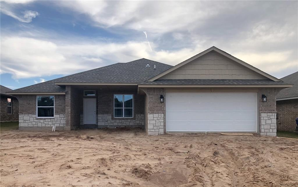 Ask about the estimated completion date of this NEW construction home! Perfect split plan layout, plus office home, that will have a tankless water heater, under cabinet lighting, gas log fireplace, crown molding and more! This location allows you easy access to multiple Highways including I-35 which makes shopping, entertainment, and commutes to OKC or Tinker AFB a breeze. Proximity to The University of Oklahoma also makes this community a convenient place to call home for faculty, students & sports fans.