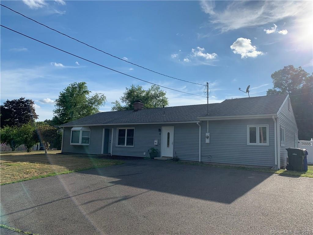 A great opportunity with 5 bedrooms in this ranch style home. Many updates including Kitchen cabinets and counters. Possible in-law set up with 2 bedrooms located on opposite end of the home. Tile foyer leads to large kitchen with eat-in space and open to large living area.  Central air to keep you cool and a great yard for relaxing outdoors. So many possibilities with bedroom count.  Utility easement on rear of property.