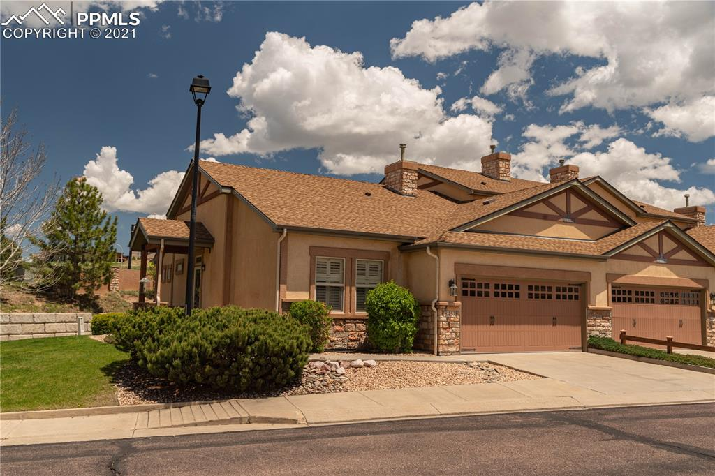 Beautiful immaculate ranch stye patio home!  Features of this home include NEW A/C (2020) ~ NEWER water heater (2018) ~ Located next to large grass area ~ 2 car garage ~ Stucco exterior ~ Covered entry ~ Kitchen with wood floors, stainless appliances, flat top stove, pantry and built-in microwave ~ Vaulted ceilings ~ Gas fireplace ~ Main floor master bedroom adjoining master bath and walk-in closet ~ Pool table ~ Main floor laundry ~ Must see!