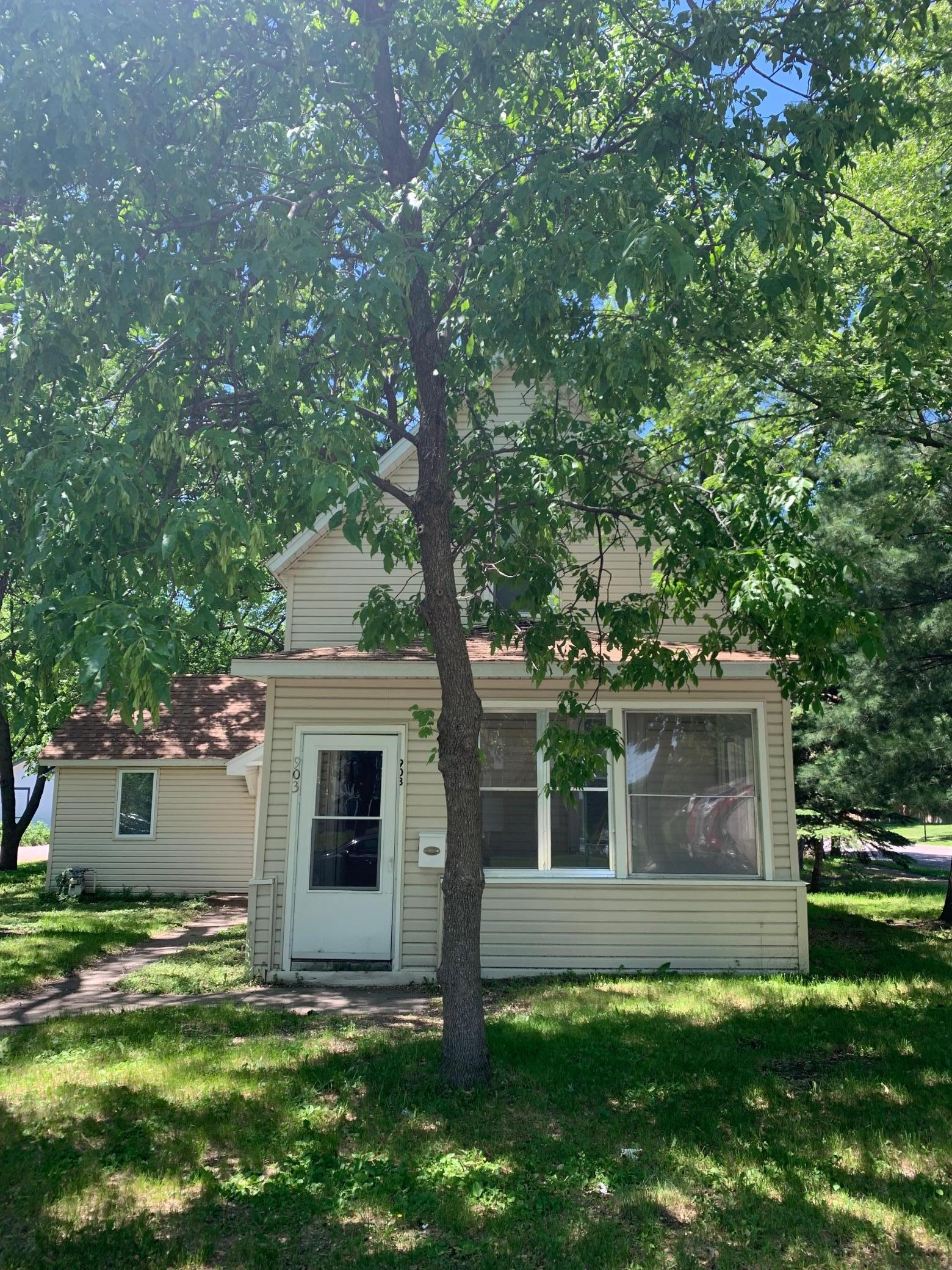 Excellent investment opportunity 3 blocks from St. Cloud State University. Home features 4 good size BRs and 2 baths. Newer stackable washer/dryer, vinyl siding and windows, forced air natural gas furnace for heat. The detached 2 stall garage is a pluswith parking for 4 vehicles in the driveway. The property is currently rented on a month to month lease for $1200 plus utilities monthly. Don't miss out on this excellent investment opportunity.