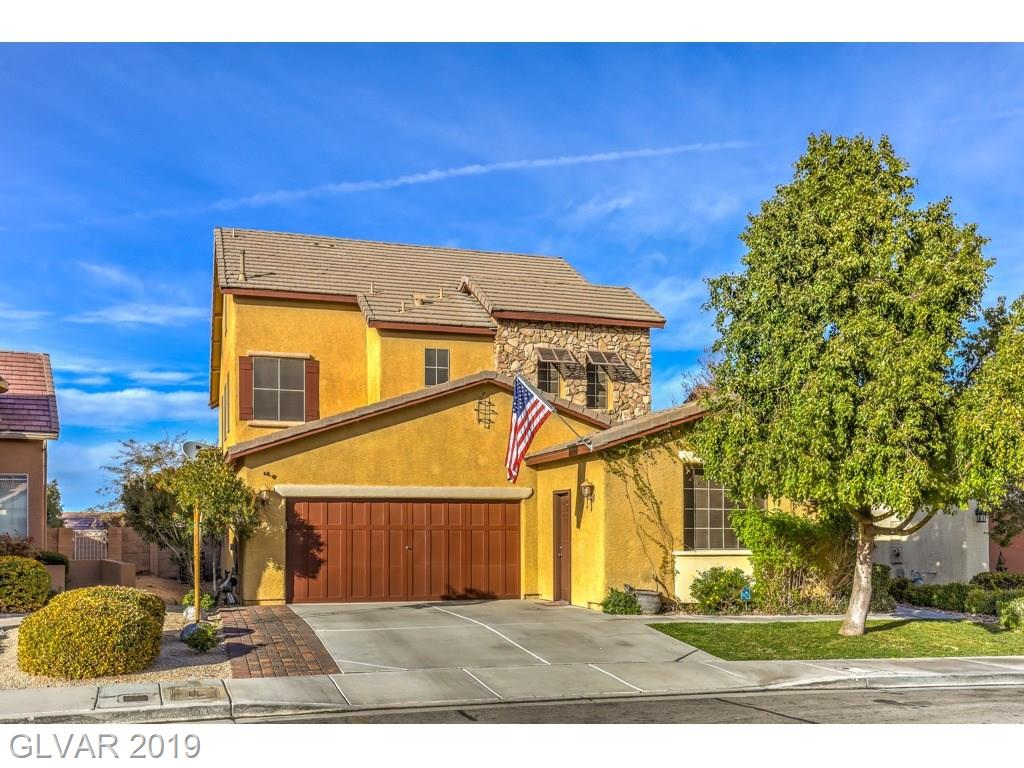 Beautiful home in sought after Coventry, next to Anthem Hills Park. Appr 2875 sq ft w/3rd car conversion. Kit w/granite counters & backsplash, SS applian & breakfast bar. Formal dining & formal living. 25K master remodel w/sep tub & shower, w/i closet w/built-ins, plantation shutters, crown molding & balcony w/city & mtn views. 3rd story is large open loft. Low maint landscape. Solar screens, upgraded baseboards, 3rd car could be converted back.