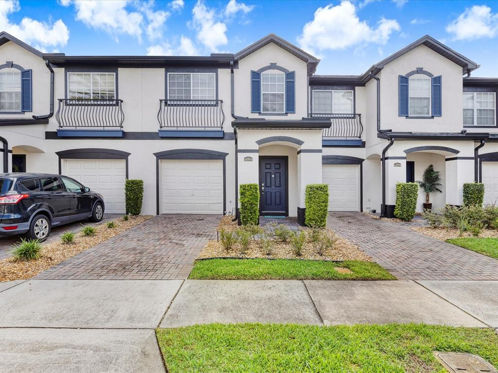 ***We have multiple offers! Come with your Highest and Best offer. Seller will be accepting offers until Sunday 7pm and make decision on Monday.*** Outstanding starter home or rental in the beautiful Lake Nona area. This terrific 3 bedroom 2.5 bath two-story townhome is in the desired Park Commons Subdivision. Walk into this wonderful home and feel the open space created by vaulted ceilings and natural light. Lovely kitchen with stainless steel appliances opens up into your dining and living room. Relax with a good book on your open patio with no rear neighbors or invite a few friends over for burgers on the grill. Great location in the Moss Park/Lake Nona area. ??Enjoy easy living - community dues include exterior maintenance and access to wonderful amenities. This townhouse is minutes to the 417 and to Moss State Park, USTA, incoming KPMG, UCF Health Sciences Campus, and Lake Nona Medical City which includes Nemours Hospital, The VA Hospital, VA Hospital, MD Anderson Cancer Research, and Sanford-Burnham Medical Research. Let's not forget the amazing nightlife offered in Lake Nona and there are tons of Retail Shops and trendy restaurants and bars, and the new state of the art Nona Performance Institute. The Moss Park community features great paths for walking, a community pool that is directly across the street, and a fun playground. Enjoy the Lake Nona lifestyle at a fraction of the cost. Make an appointment today to see this beautiful townhome located in Moss Park Commons, close to Medical City, and the Orlando International Airport.