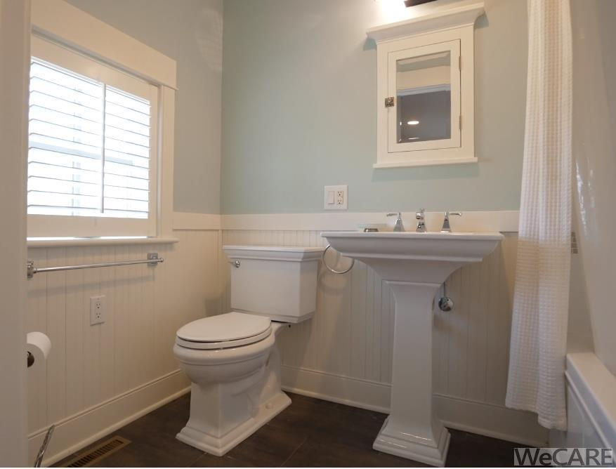 Private, full bathroom in guest suite on 1st floor