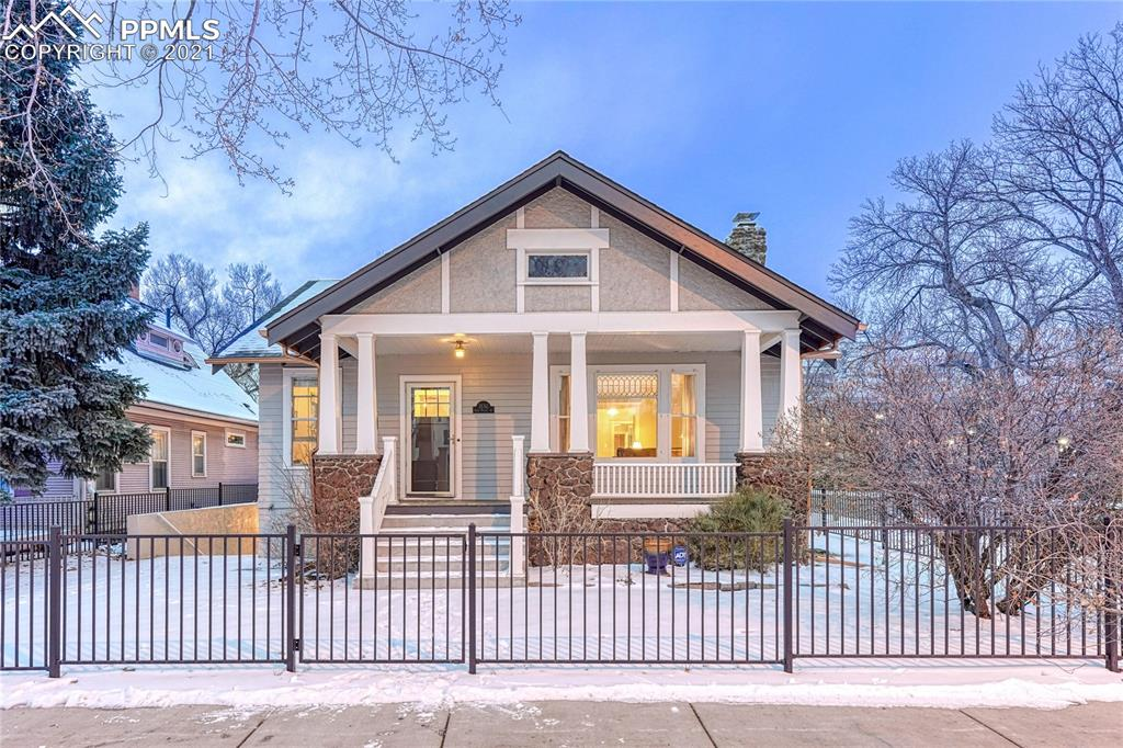 This home is truly one of a kind! Built in 1904, in the original plat of the Old North End, and is on the Historical Registry! Leaded glass windows (from that era) are scattered here and there. It's complete with 2 separate/fully equipped Living Suites, upper & lower levels, not to mention a 3rd Attic Area suite, previously used as a bedroom using a wardrobe/closet. The lower-level kitchen highlights the original brick wall yet builds a modern vibe around it. This home has a rich & interesting history of owners, the last of which was a Psychologist, utilizing the lower level for his private practice-a convenient use of the space since it has a separate entrance. During the last 2 years, this home has had a thorough interior upgrade. Electrical, plumbing, hot water heating, all finalized in RBD to include the R2 status. During these upgrades the lower level was transformed into a gorgeous living space that can be independent of the upper level, should that fit your desires. Some of the aesthetic updates include- Leather textured hand-hewn edge granite, custom iron railing in the dining area, luxurious spa bathroom with double rain shower heads & deep soaking tub with a 5-inch fountain pour faucet, a full kitchen, recessed lighting, light fixtures, doors, custom finished flooring downstairs- refinished wood floors on the top 2 levels, new garage door, exterior & interior paint, Copper toned gutters & downspouts. An extensive list of the upgrades/costs will be given to the new owner/ a breakdown of the same noted on the home flyer. There are 2 complete sets of kitchens & laundry appliances upper & lower levels One of the  Master bedroom closets  has a full size stackable clothes washer & dryer- Come take a look inside!