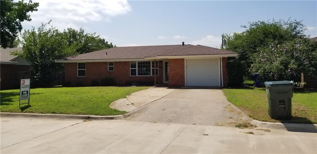 Very nice 3 bed 1 bath home close to OU Campus with large yard, a 1 car garage and washer/dryer hookups.  Deposit and rent amount are negotiable and move in date can be flexible.  This is a very nice home in a great neighborhood that is close to Campus.  broker is owner #171330
