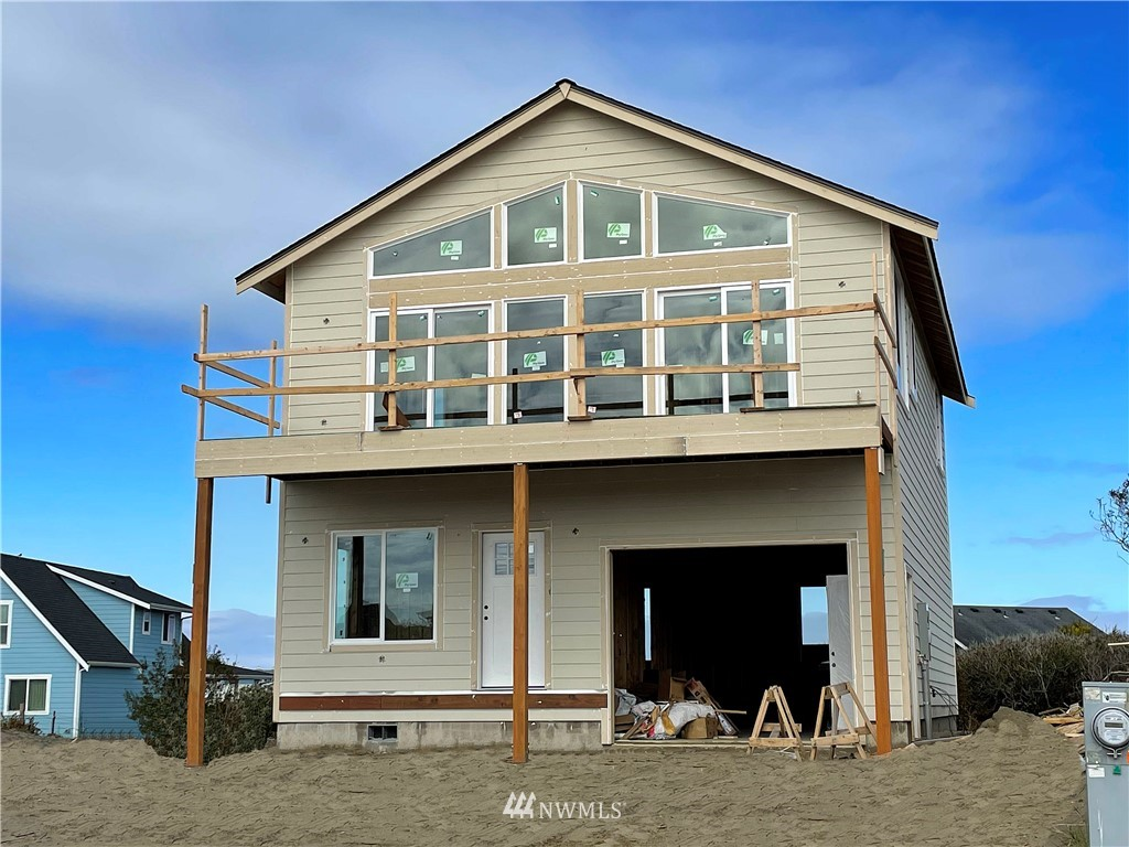 Beautiful brand new construction ocean view home to be completed Spring of 2021. This awesome house sits on a hill giving it a better view than the neighboring properties. Home comes with beautiful finishes like quartz countertops, stainless steel appliances, and quality cabinetry. Walk to two local beaches and enjoy additional views of the bay and Mount Rainer.