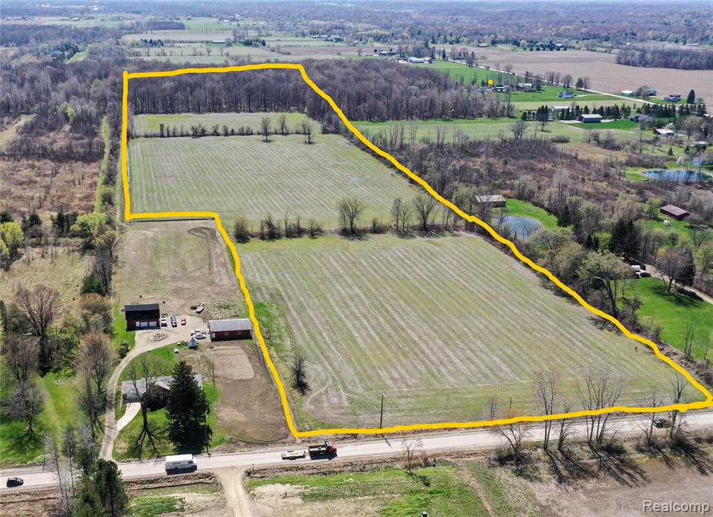 Great investment opportunity to build your own estate! Over 37 acres of cleared vacant land with 25% of it woods to the back. 3 splits available unless a road is added for a subdivision. Land is leased to a farmer, who has full rights to harvest crops through end of 2021 season or be compensated for same by Buyer. Gas and electric at road.