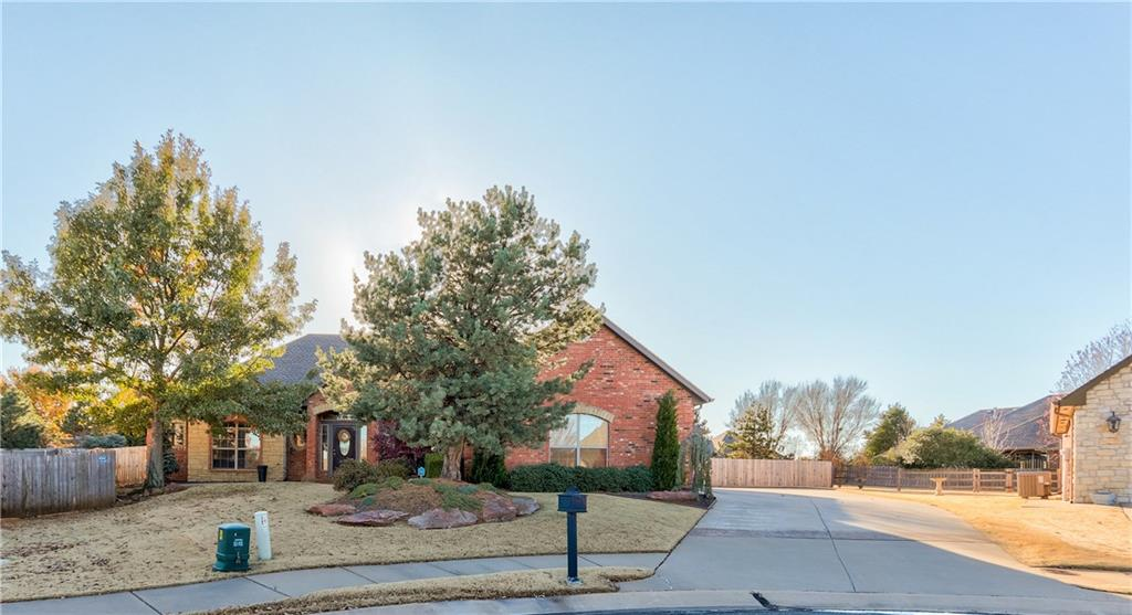 You won't want to miss out on this recently updated, gorgeous home with a huge lot that backs up to the greenbelt! This home features wood-look tile, modern cabinets, subway tile backsplash, quartz countertops, stainless farm basin sink, stainless appliances and a gas supply hookup underneath the cooktop. The master suite has amazing upgrades including: Rustic barn doors, a freestanding Japanese soaking tub, double vanities and a tiled accent wall There is a dedicated study with hardwood floors & built-in bookshelves. The large 4th bedroom could be a den, theater room, game room or play room. This home also includes a massive backyard (.4 acres) and backs up to a tree-lined greenbelt and gives plenty of space for play or gardening with the privacy and scenery of all the trees! This is located in the perfect spot, close to shopping, restaurant and walking trails! Call today to schedule your private showing!