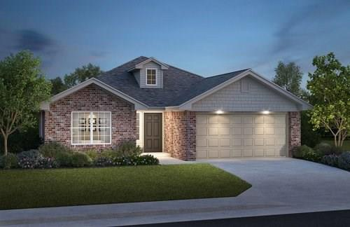 Brand NEW construction in Yukon that can be reserved today! Please schedule a showing to learn more about the estimated completion date as this home is under construction. Summerhill Meadows is a growing community that offers prime location, a fun playground, and a pool w/cabanas coming soon! The Bristol floor design checks all the boxes. This 3 bedroom plan includes a large walk-in closet in the master bedroom and a stunning wall to wall covered patio perfect for outside entertaining. Amazing neighborhood amenities include a fun pirate ship themed playground with a future pool and cabanas! Let's talk about just a few included features that separates this home from the rest: 97% Tankless Water Heater, 6' privacy fence makes the backyard an enjoyable space, Fireguard45 (google it), Landscape Package, Freeze Proof Exterior Water Spigots ...too many included features to list! Schedule a showing today to learn more about your new home.