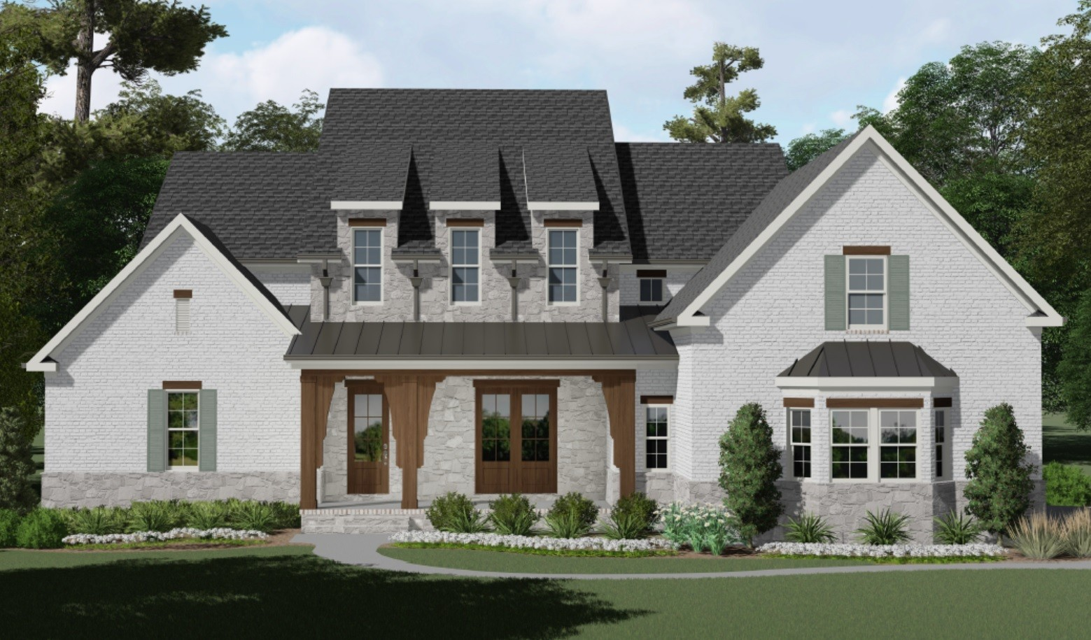 """Quality construction from AR Homes in new development-Hardeman Springs! Chef's kitchen w/66"""" built-in refrigerator, massive 10' island & hidden pantry, fantastic utility room w/center island, dual stairwells, private tiered media on main, entertaining bar, large bedrooms w/walk-in-closets, storage access & more. Private homesite backs to mature trees.  Builder can customize any home to suit Buyer's needs! Community pool coming Summer 2020! GPS: Use 4991 Murfreesboro Rd, Arrington, TN"""