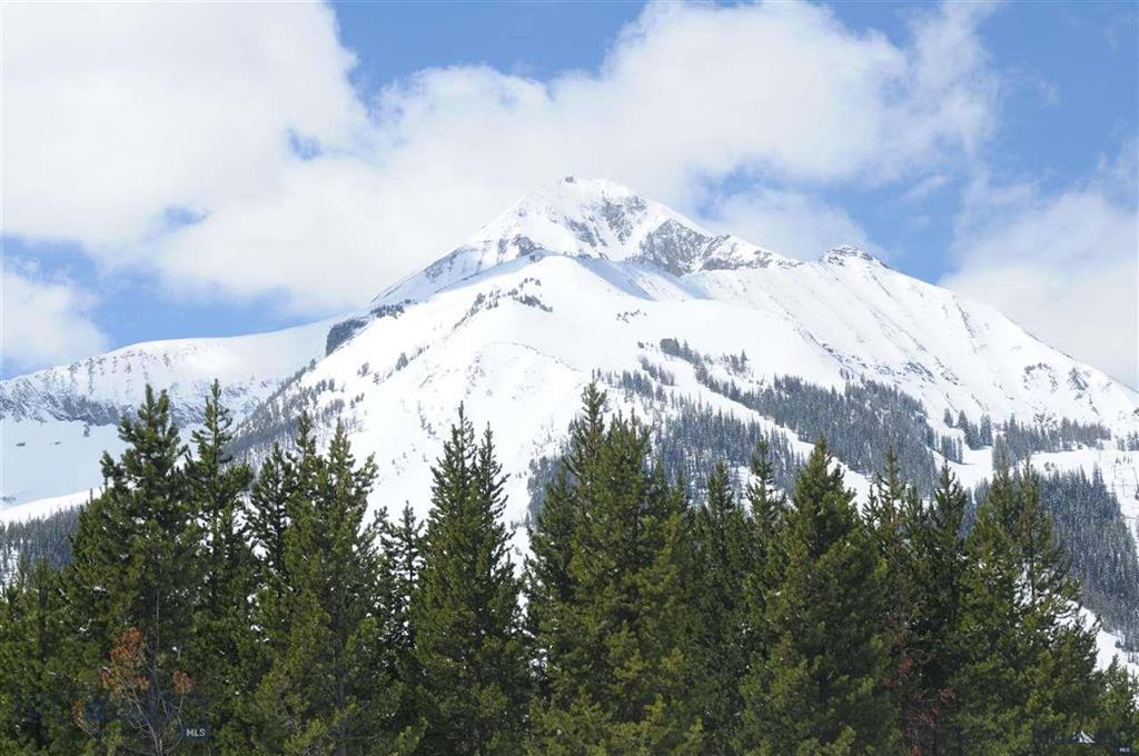 A 1.45  acre lot, located in the Cascade Subdivision with ski-in ski-out access to Big Sky Resort. Enjoy spectacular southern exposure views of Lone Mountain, and the ski area, including wildlife right outside your door. A geotechnical survey has been competed and is included.