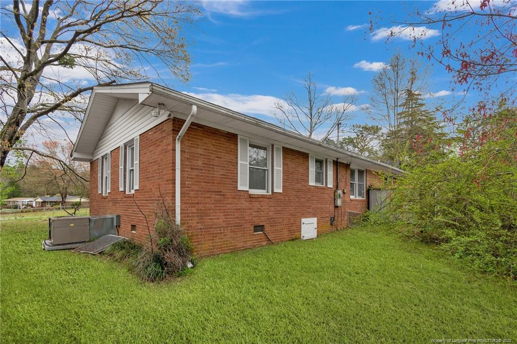 The perfect starter for first timers and investors alike. Turn your attention to 303 Decatur Drive, sure to put a spring in your step, this fantastic ranch home has a lot to offer. This home delivers on all fronts with 3 bedrooms, 1 bathroom, hardwood floors, a private yard, and inground pool. You are welcomed in the home by formal dining room accompanied by over-sized windows and natural light.   Off of the living room is a formal dining room, perfect for all your family gathering. Bedrooms all have hardwood flooring. Make a splash outback in the inground pool. surrounded by patio, and open yard. Memories are waiting to be made. Top it all of you can't get much closer to Ft. Bragg while having easy access to shopping, dining, schools and I-295. Your search is over.