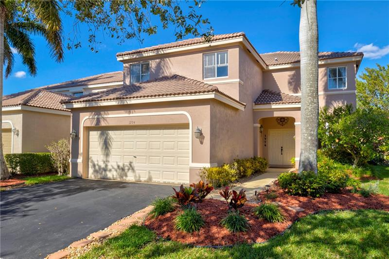 RARELY AVAILABLE-5 Bed, 3.5 Bath, 2,672 sq/ft Low HOA, UPDATED Home in Gated Savanna a Weston Community & A+ Schools. SO MANY UPDATES, Master En-suite Bathroom w/Porcelain Plank Floors, Dual Rain Shower w/Diamon-Fusion Coated Frameless Glass Enclosure, Soaking Tub, Dual Sink, Bidet & Barn Door, Kitchen, Appliances, Double Oven, Crown Molding, AC 1 Year, ½ Bath, Spacious Covered Patio w/Fan & Gazebo for Entertaining & Privacy Hedges to Name a Few! On 1st Floor-Kitchen, Family Rm, Living Rm (Shown as Office), Formal Dining Rm (Shown as Reading Rm), Dining Area, ½ Bath & Laundry Rm. Resort Style Amenities Include: Cafe/Restaurant, Swimming/Lap/Kiddie Pools/Water Slide/Hot Tub, Miniature Golf, Soccer, Hockey Rink, Basketball Court, Playground, Community Center & Outdoor Gazebo! Welcome Home!
