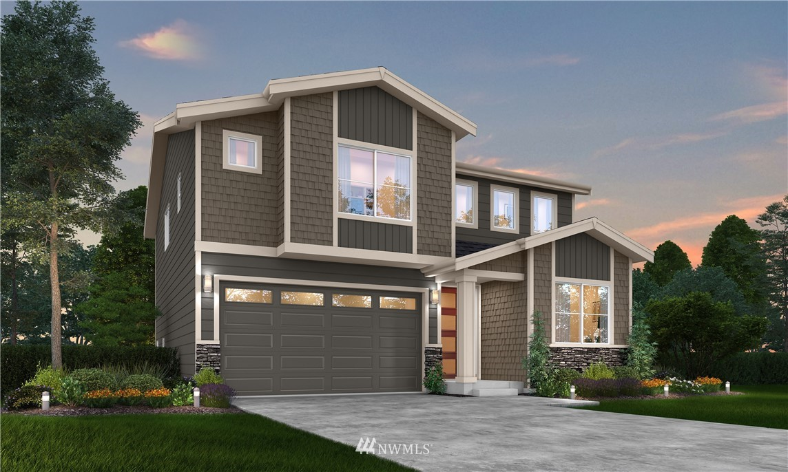 Introducing Hillcrest, the newest community from Harbour Homes. This home has over $22,000 in upgrades included in this price! The 2404 floorplan has become a buyer favorite. The large front door leads you through the foyer into the open great room, the dining room, the kitchen, and the covered patio. The kitchen features a center island, a walk-in pantry, and ample counter space sure to suit all of your entertaining needs. A bedroom and a 3/4 bath complete the main floor. Upstairs you'll find a luxurious master suite with a 5-piece bath and a walk-in closet, a loft, two additional bedrooms, and the laundry room. Garage door opener and keyless entry are also included.