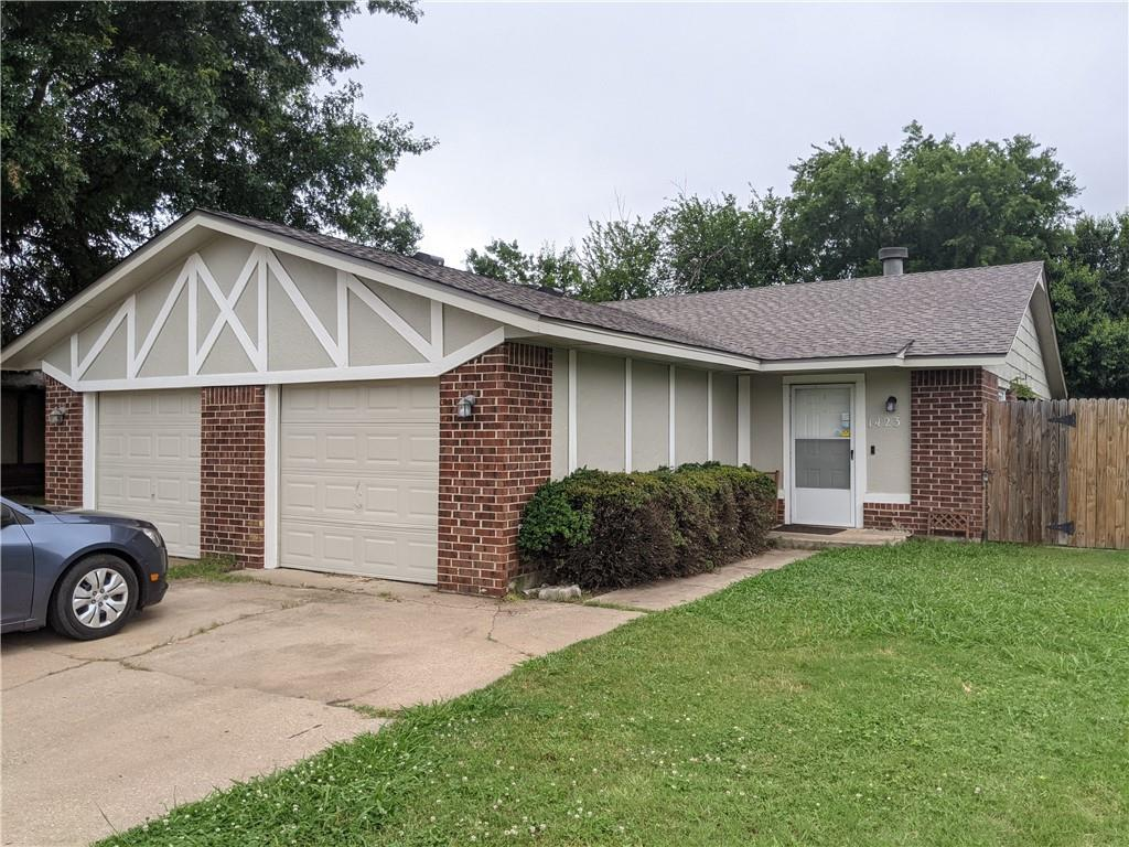 Multiple offers have been received.  Highest and best offers due by Saturday June 19th at 8:00 PM.  Opportunity to live in one side and rent out the other, multigenerational housing, or just have 2 doors under one roof -- this duplex presents lots of options! Each unit has two beds and two FULL baths, a one car garage, and separate fenced backyards.  The exterior has just been repainted and a brand new 30-year roof was put on in June 2021.  Excellent location just two miles from the University of Oklahoma and close to restaurants and shopping! Currently tenant occupied and requires a 48-hour notice to show -- You can check out the 3D virtual tour 24/7 though!  The right side has a lease that ends June 30th and the left is currently month to month.  Please do not disturb tenants.