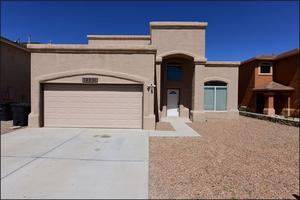 El Paso Eastside Home! Priced to Sell! Take a look at this good-looking 2 story home with 4 bedrooms, 2.5 baths Masters is accommodated with a walk-in closet & double sink for his and hers. This home is located 3 minutes from I-10 or Loop 375 and approximately 20 minutes from Ft. Bliss, TX... Enjoy 3 large bedrooms all located in the second floor, two living areas, and an open bright kitchen. The backyard is an open canvas, ready for your choice of landscape, it has a high wooden fence lining all around for your secluded enjoyment. Come have a look this marvelous home. Available Cash, Conventional, FHA, TX Veteran and VA financing.