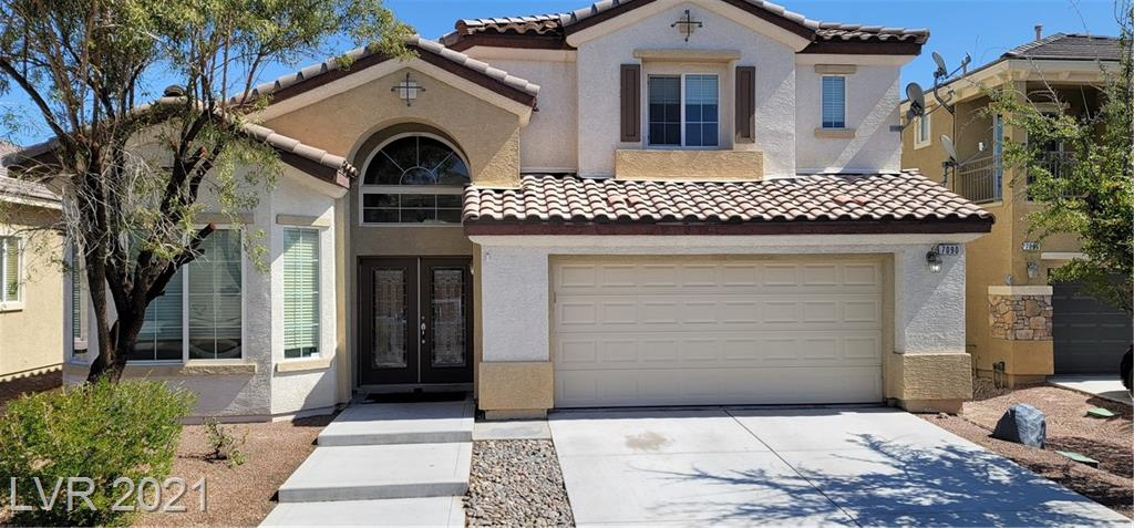 GORGEOUS HOME IN THE MASTER PLANNED COMMUNITY OF ALIANTE. MASTER BEDROOM DOWNSTAIRS AND TWO SPACIOUS BEDROOMS UPSTAIRS WITH CEILING FANS. MASTER BR. HAS WALK IN CLOSET, DOUBLE DOORS TO THE PATIO AND BACKYARD, DUAL SINK IN THE MASTER BATH, JACUZZI TYPE TUB AND SPORTS SHOWER. LARGE  LOFT OVERLOOKS GREAT ROOM AND LEADS TO BALCONY WITH BACKYARD VIEWS. TURN KEY, VAULTED CEILINGS AND UPGRADED LIGHT FIXTURES. POOL SIZED LOT AND HUGE BALCONY AND PATIO AT THE BACKYARD. EASY ACCESS TO I-215 FREEWAY, ALIANTE HOTEL, NATURE PARK, DINING AND SHOPPING.