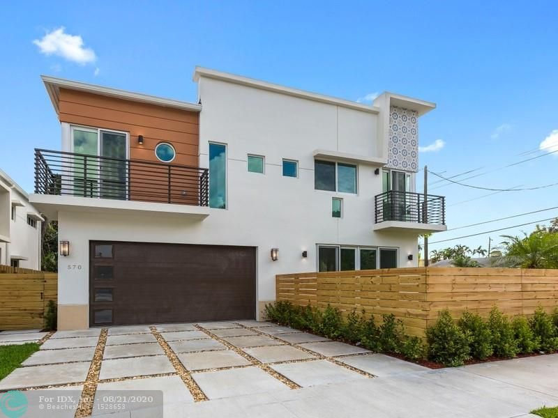 New modern townhome located in the coveted Tarpon River community. It is a stunning modern 2-Level home built in 2019. The 3BR/2.5BA 2,342 total adjusted SF home includes hurricane impact windows and doors, 2 balconies, Italian tile throughout, Quartz countertops, Cesar Cabinetry, high ceilings, Energy Star LED lighting, handcrafted stairs, 2-car garage, fenced entrance and backyard.   NO HOA!!!   Amazing location minutes from beaches and Las Olas.  2-minute walk to Riverwalk Water Trolley Stop.  Watch Video: https://www.youtube.com/watch?v=SarCbKVEbz0