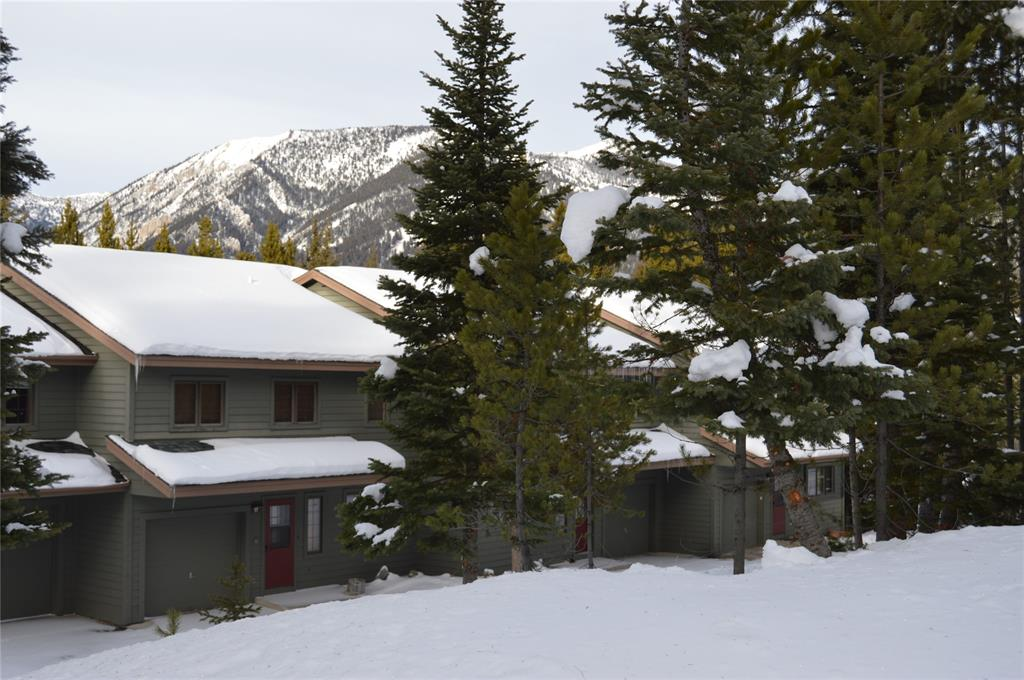 This is a 1/8th ownership opportunity in a well maintained 3BR/2.5BA Hidden Village condominium.    Hidden Village is a great community tucked away in the woods just above the Meadow Village and Town Center areas of Big Sky so you are close to skiing and fishing and all of the amenities of our beautiful spot in Southwest Montana.   The condominium association has a fabulous outdoor pool for summer use and an outdoor hot tub for summer and winter use if you don't want to use the hot tub within the condominium itself.