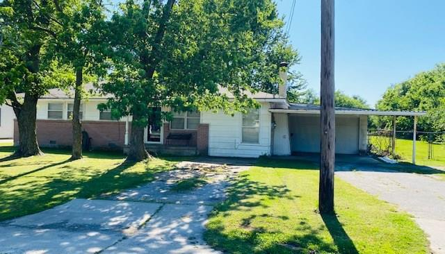 Cute Fixer Upper on .68 acres in Moore.  Large yard with a shed, Big Trees and backyard access close to a dead end. 3 bed 1 1/2 bath with a 275 square foot Florida room. Beautiful Hard wood floors.  Hall bathroom has double vanities with tons of cabinets for storage.  Has a 1 car garage and a 2 car carport.  Come check this one out and make it your own with a little TLC.