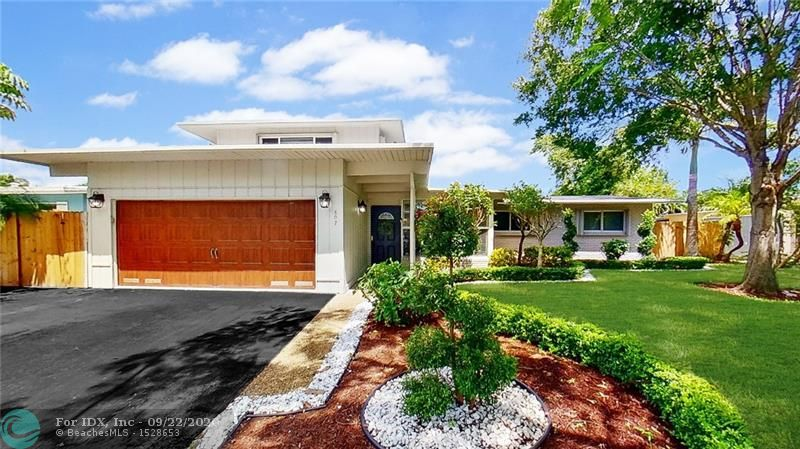 Renovated throughout, this fabulous modern Wilton Manors home is centrally located minutes from Wilton Drive, downtown, and the beaches with easy access to I95.  Enjoy the outdoor oasis and swimming pool with covered living area and ultimate privacy. The open floor plan provides unlimited entertaining possibilities with an abundance of natural lighting throughout, brand new kitchen with gorgeous quartz countertops, stainless steel appliances, and wood-look porcelain tile. This home will leave you feeling serene as you kick back after a long day working from your home office. Have peace of mind with hurricane impact-rated windows and accordion shutters throughout and a brand new roof with upgraded architectural roof shingles installed in 2020. Schedule a safe private showing today!