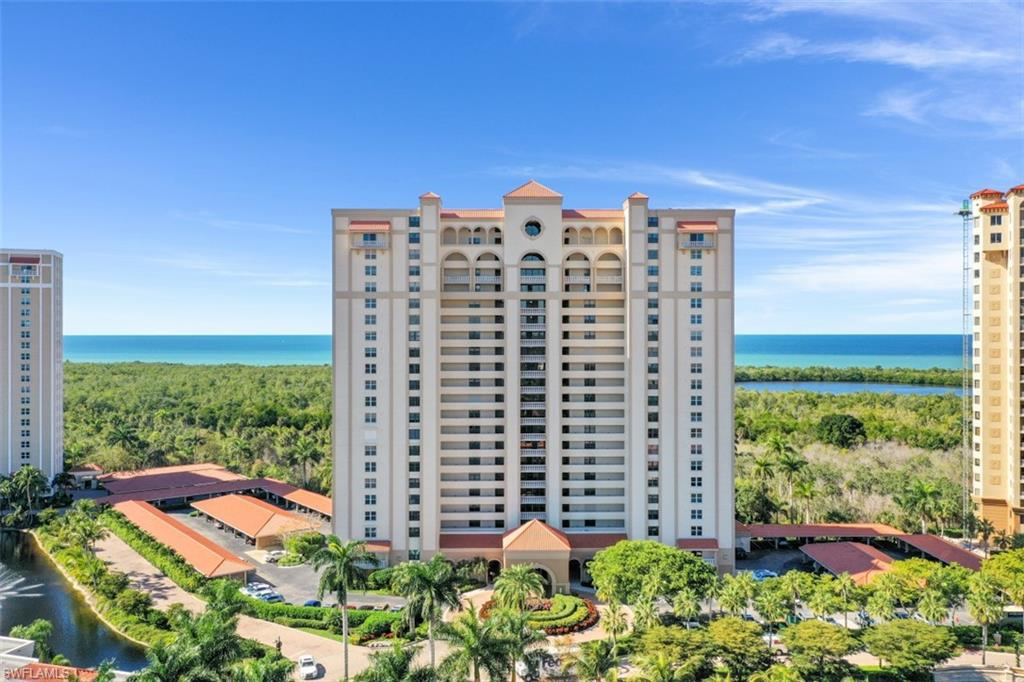 Stunning CENTER UNIT located in highly sought after St. Kitts of Pelican Bay! This 19th floor condominium is truly a rare find with UNOBSTRUCTED and EXPANSIVE gulf, sunset and city views from downtown Naples to Sanibel Island. Completely renovated with cutting edge designs offering a spacious & luxurious living space. Numerous built-ins including a murphy bed and complete study add to the excellent functionality of this residence. The choicest and deeded parking space in the building garage. Hurricane impact resistant doors and windows throughout. Easy access to the tram for convenient travel to the beautiful berms and beaches. The building is going through an extensive and upscale remodeling of the pool, social rooms, and the fitness center to be completed in 2021. St. Kitts residents also have access to Pelican Bay's five star amenities including har-tru tennis courts, miles of white sandy beaches, 2 beachfront restaurants, and state of the art fitness/life center. In this community you are surrounded by high-end shopping, restaurants, the art museum and the Artis performance center. THIS IS A MUST SEE!