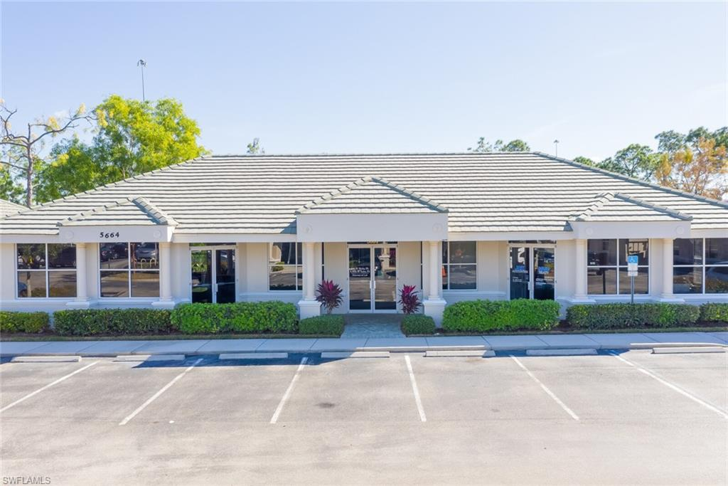 Updated free standing office condominium building with split offices if needed. The professional office contains a spacious reception area, three large offices, and a bathroom. The law office has a reception area, a conference room, seven offices, a bathroom, and a separate kitchen. Conveniently located just off of Immokalee Rd near the Strand. Rent is approximately $20-$30 per square foot. Rent a section to help pay for your mortgage!
