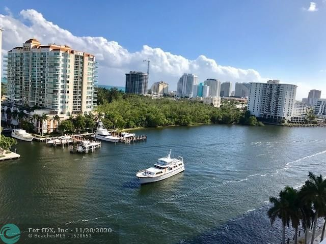 DIRECT INTRACOASTAL & OCEAN VIEWS FROM THIS GORGEOUS ELEGANT FURNISHED 1 BEDROOM CONDO/HOTEL. GREAT INVESTMENT AND/OR VACATION GETAWAY. A RENTAL PROGRAM IS AVAILABLE MANAGED BY HILTON W/NO BLACK OUT DAYS. UPSCALE AMENITIES INCLUDING ROOM SERVI CE, VALET, CONCIERGE, MAID SERVICE, POOL BAR & WATER TAXI TO PICK YOU UP AT YOUR BACK DOOR. BEACH, RESTAURANTS, GALLERIA UPSCALE MALL & MORE WITHIN WALKING DISTANCE. COMPLETE RENOVATION 2018