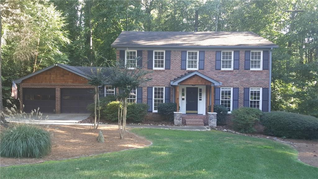 Tastefully renovated home in E Cobb's fantastic neighborhood Willow Point, is now on the market.   Hardwood floors and ceramic tile throughout most of the home. Oversized Gourmet Kit with lots of counter / prep space in granite! Walk in Pantry. Great natural light from the dble window in bkfst area overlooking deck / back yard. Fireplace in Great Room. Sep living room or bonus room in front. Sep Dining Room. 4 Bedrooms Up w/ 3 full baths. Half bath on main level. Finished Basement + utility storage. Backyard w/ fire pit. Top Ranking Schools in E Cobb Schools.