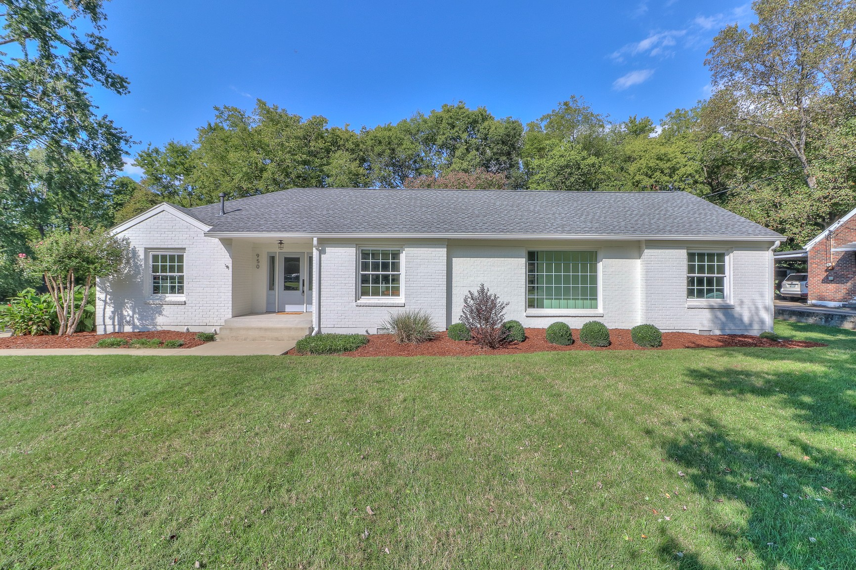 Charming Renovated Oak Hill Ranch! Featuring incredible natural light with updates throughout,including freshly painted interior and exterior, new  windows, hardwoods, light fixtures and hardware. All bathrooms have been renovated, Custom built-in wood closets, Brand new kitchen appliances, new quartz countertops, and backsplash, new laundry room, new hardscaping, driveway, deck, and landscaping. Roof 2021, water heater 2020, HVAC & ductwork 2020.