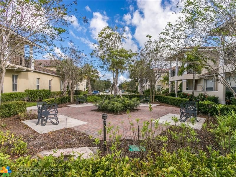 THIS TOWNHOME OFFERS 3 BEDROOMS 2.5 BATHS; OPEN CONCEPT KITCHEN, DINING AND LIVING ROOM; SPACIOUS MASTER BEDROOM WITH BALCONY AND TWO WALK-IN CLOSETS; LAUNDRY ROOM UPSTAIRS; TILE FLOOR DOWNSTAIRS, LAMINATE FLOORING UPSTAIRS. SPACIOUS 2-CAR GARAGE. KITCHEN FEATURES GRANITE COUNTERS, STAINLESS STEEL APPLIANCES. ENJOY COMMUNITY POOL. WALKING DISTANCE TO SHOPPING, RESTAURANTS & MOVIE THEATRE; CLOSE TO PARKS & BEACH. WON'T LAST!