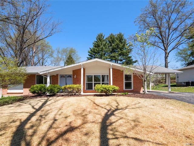 Well maintained 3 bedroom, 2 bath ranch in the award winning Parkway school district. Bright and open kitchen features white cabinets, solid surface counters, stainless-steel appliances and brand new backsplash. The kitchen opens into a large family room with large windows and a door that walks out to the level backyard. All three bedrooms boasts hardwood floors and reach in closets. Both bathrooms are nicely updated. The living room and double doors leading to the separate dining room complete the main level. New carpet throughout. Full basement with great ceiling height. New landscaping and mulch just completed April 2019. 2 car carport.