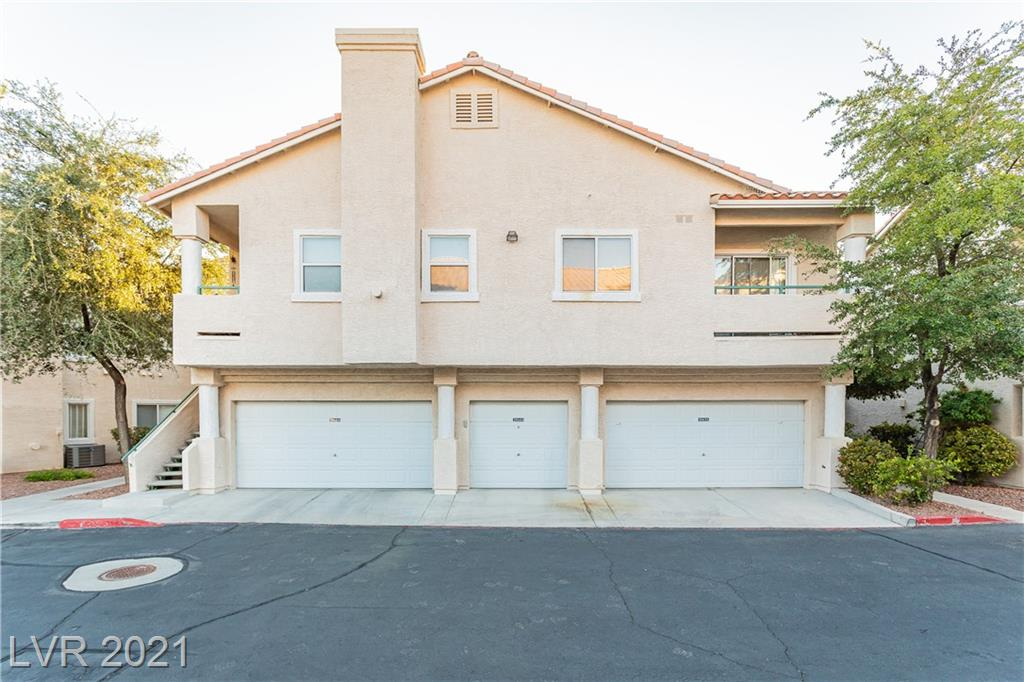 Welcome home! Condo dreams just miles away from the famous Las Vegas Strip! Located in a gated community with a central location. Two story condo with roommate style living, vaulted ceilings, and fireplace!