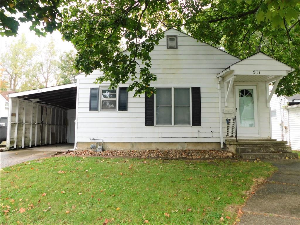 Great location close to Effingham Junior High and High School! Here is your chance to own an affordable 3 bed 1 bath home. Original hardwood under all carpet. Newer roof. Water Heater 2018. Newer sewer line. Full appliance package including washer and dryer included. Some windows have been replaced. Home has basement and attached carport with storage. Large backyard. Check out this home before it is gone!