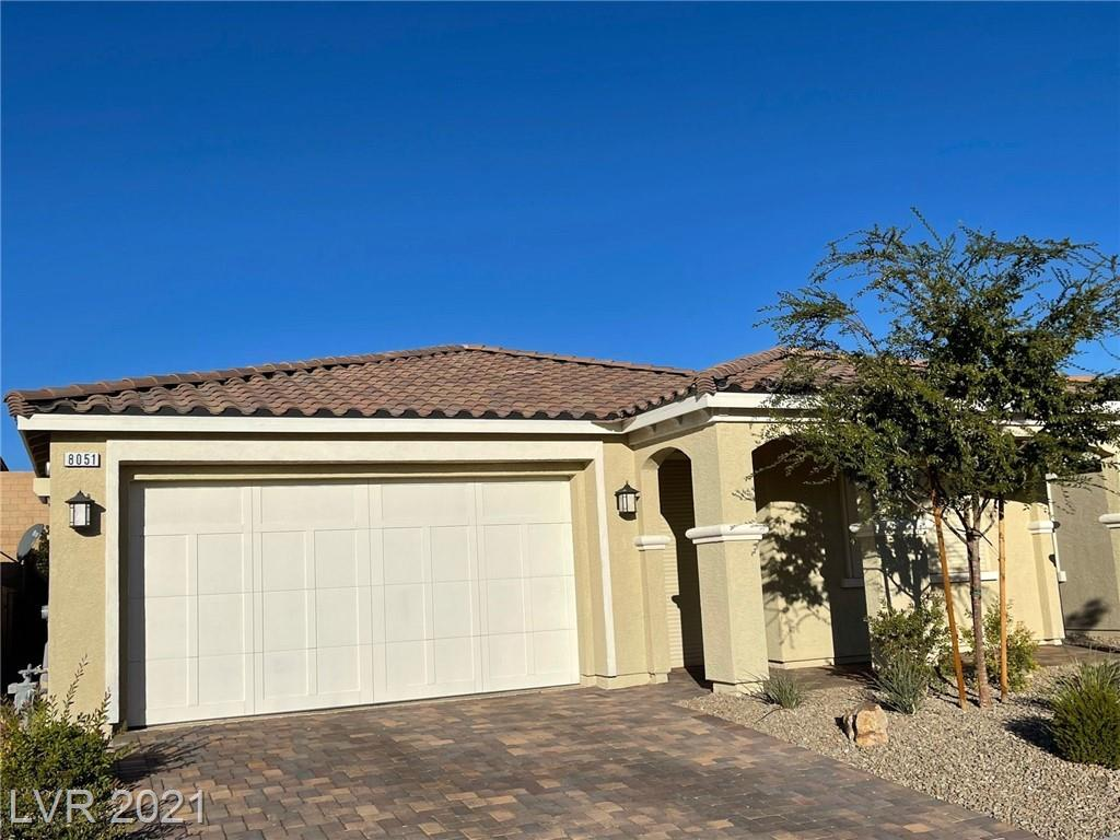 Located in a sub community of Skye Canyon. Buyer will have access to all the Skye Canyon amenities including the pool. Home features fully paid full solar panels and Rolladen shutters for security and protection against the harsh weather. Very energy efficient home. Pebble tec garage floor.