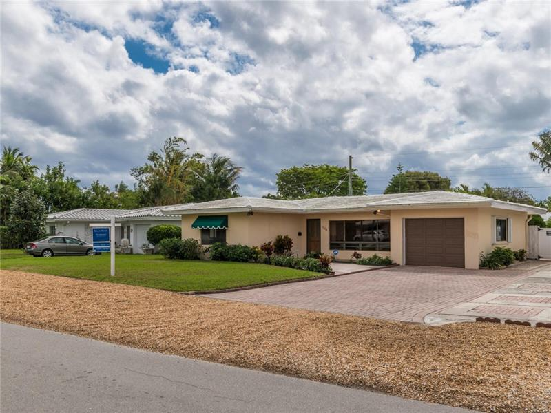 OPEN HOUSE TODAY, SUNDAY, 3/6, FROM 1:00-4:00 P.M. SUPER SHARP 2/2 HOME ON VERY DESIRABLE POINSETTIA DRIVE...VAULTED CEILINGS, RECESSED LIGHTS, ALL CERAMIC TILE FLOORS, AND WALLS OF WINDOWS THAT BRING IN THE NATURAL LIGHT...LONG TIME OWNERS HAVE KEPT THIS HOME IMMACUALTE...OPEN LIVING ROOM AND DINING ROOM LEADS TO A FAMILY ROOM/DEN WITH SLIDING GLASS DOORS TO THE GENEROUS SIZED BACKYARD AND PLENTY OF AREA TO ENTERTAIN ON THE PATIO AND MULTIPLE TIERED WOOD DECKS...FULLY APPLIANCED KITCHEN OVERLOOKS PATIO AND GARDEN AND OFFERS A SEPARATE LARGE LAUNDRY ROOM...8 YEAR OLD FLAT TILE ROOF, PAVER DRIVEWAY, AND IRRIGATION SYSTEM...GOOD SIZED BEDROOMS, MASTER WITH ENSUITE AND WALL OF CLOSET SPACE...1 CAR ATTACHED GARAGE...THE HOME HAS WONDERFUL CURB APPEAL...MAKE IT YOURS!!!