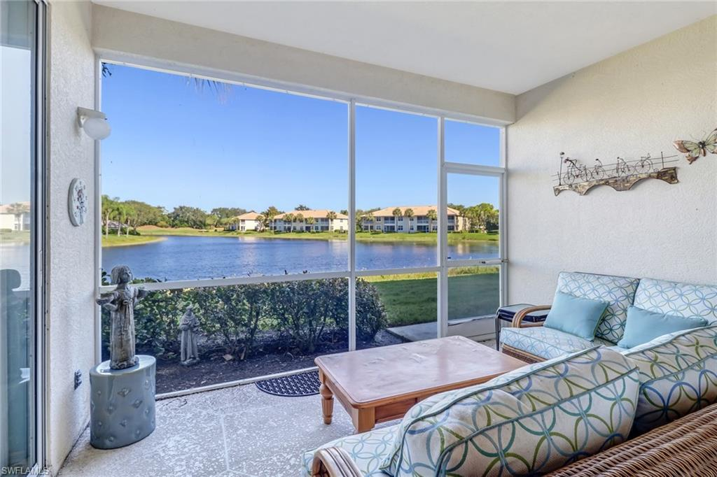 Don't miss this perfect North Naples golf getaway condo in Stonebridge.  Very well manicured golf course and community with amazing amenities to live the active Naples lifestyle.  This condo has an immaculate view and will be just right for your vacation home or full time residence.
