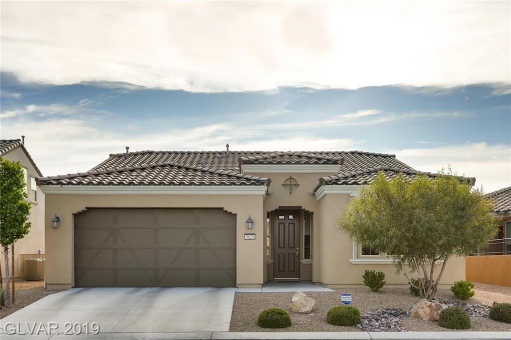 55+ AGE RESTRICTED COMMUNITY ~ARDIENTE~!** GUARD GATED ** PRISTINE 2 BEDROOM + DEN SINGLE STORY HOUSE WITH IDEAL FLOOR PLAN**GORGEOUS INTERIOR FINISHES**STAINLESS STEEL APPLIANCES**COVERED BACK PATIO**DESERT LANDSCAPING FRONT & BACK**COMMUNITY IS ADJACENT TO SHADOW CREEK GOLF COURSE**