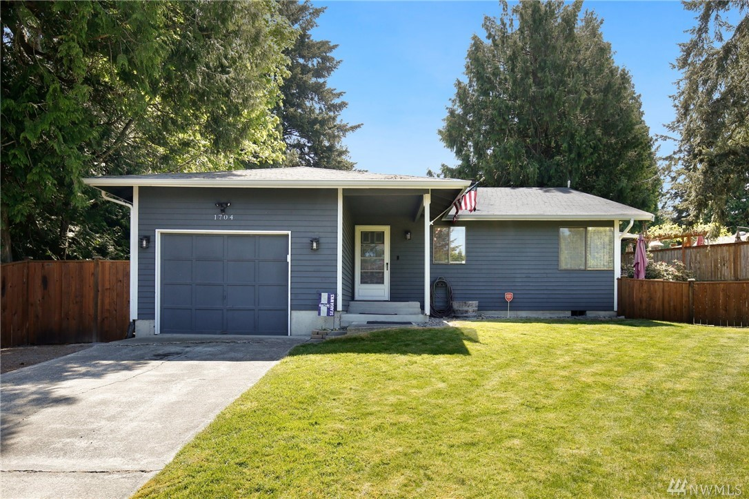 Tucked away at the end of the cul-de-sac this spacious rambler features hardwood flooring in the entry & kitchen, upgraded counters, stainless steel appliances & large wood-burning fireplace. Floor plan includes spacious living room, dining area, guest room, hall bath, master suite w/ deck access, 3/4 bath & large closets! Flex room for den/office/bedroom. Numerous closets provide ample storage space. Storage shed for your yard toys & lawn care. True backyard oasis with dual decks & fire pit!